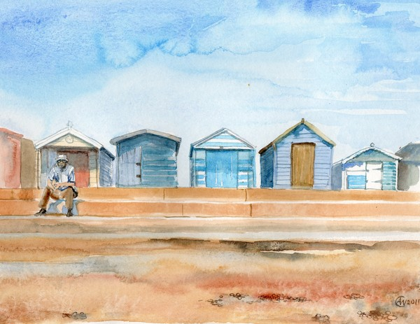 Beachhuts at Brightlingsea