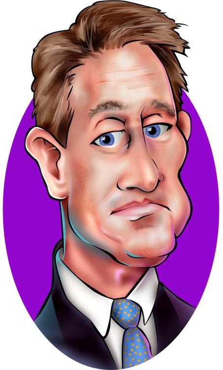 Jeff Flake - Caricature Art