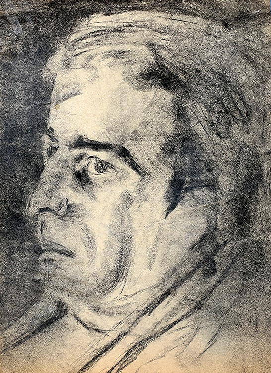 expressive man portrait drawing male portraits drawings pencil on paper artist painter raphael perez