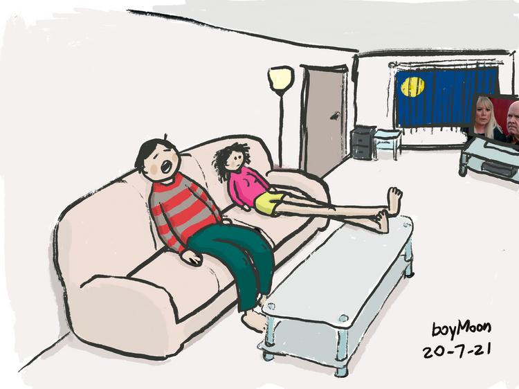 TV Soap = Nap Time