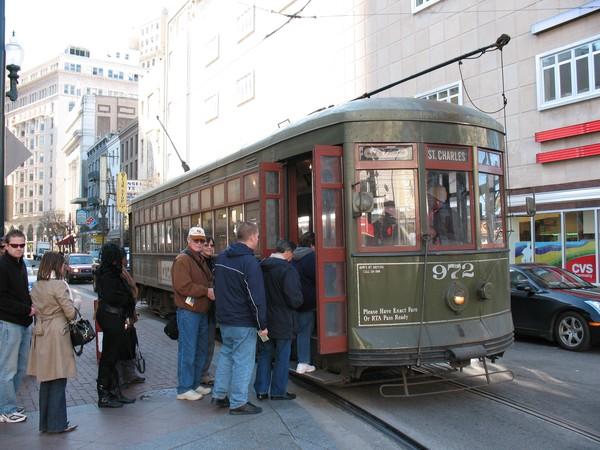 ST Charles St - Street Car - New Orleans