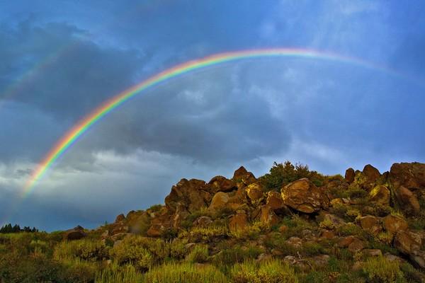 A Rainbow Evening