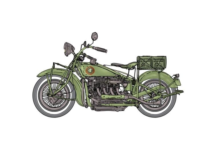 old army bike