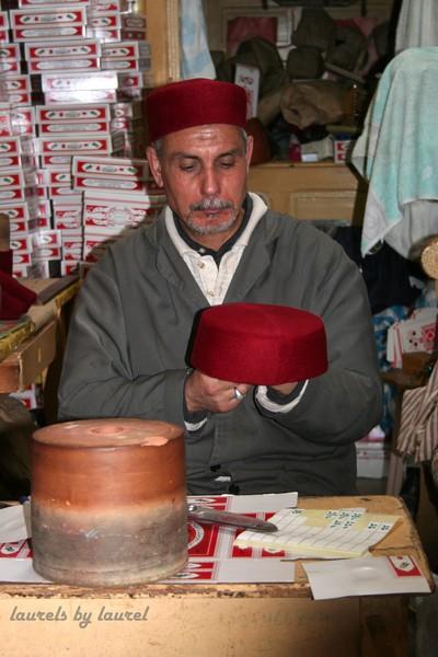 Making a Tarboush Hat