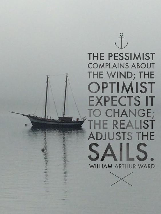 Adjusting the Sails
