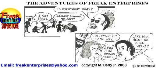Freak Enterprises Strip #22