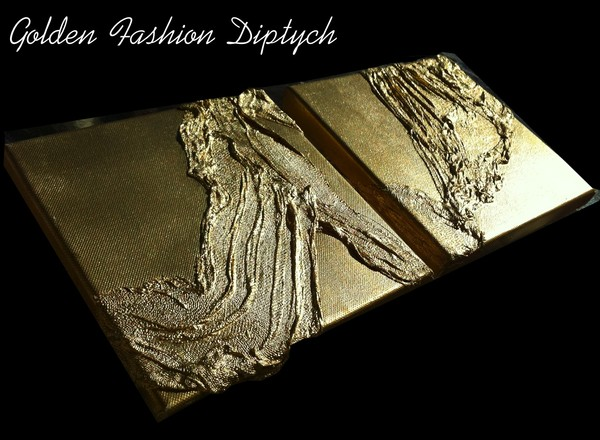 Golden Fashion Diptych