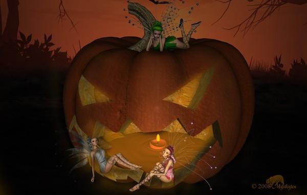 Pumpkin Faeries