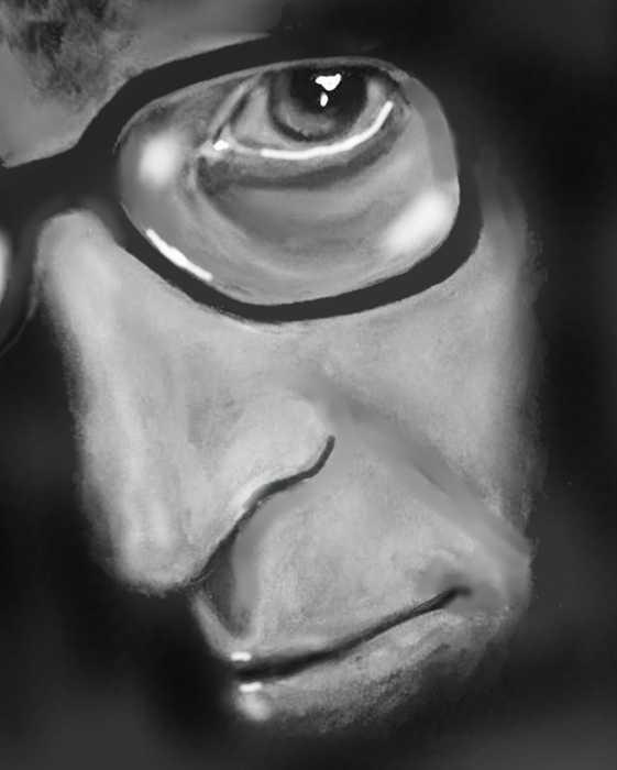 Woody Allen pencil