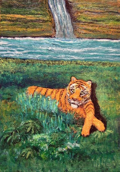 TIGER IN PARADISE