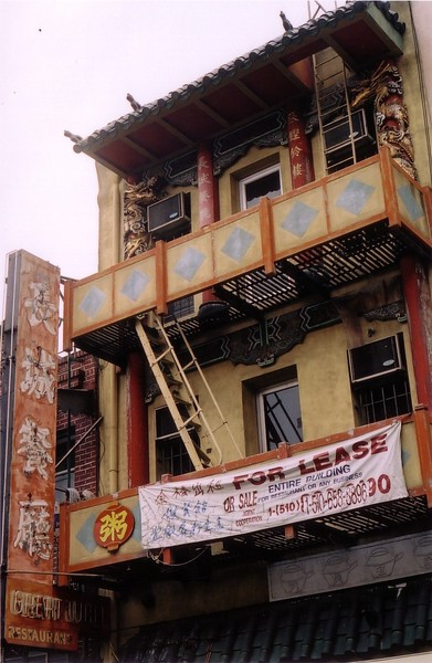 Building in China Town SF
