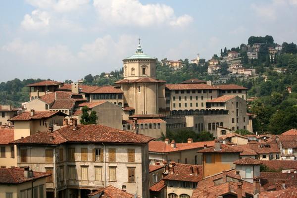 Rooftops of Bergamo