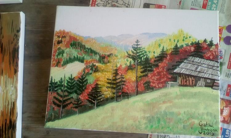 Romanian Autumn landscape