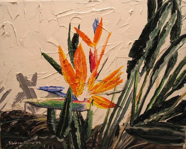 Bird of Paradise 2 (painting)