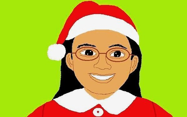 Self-Portrait For Christmas