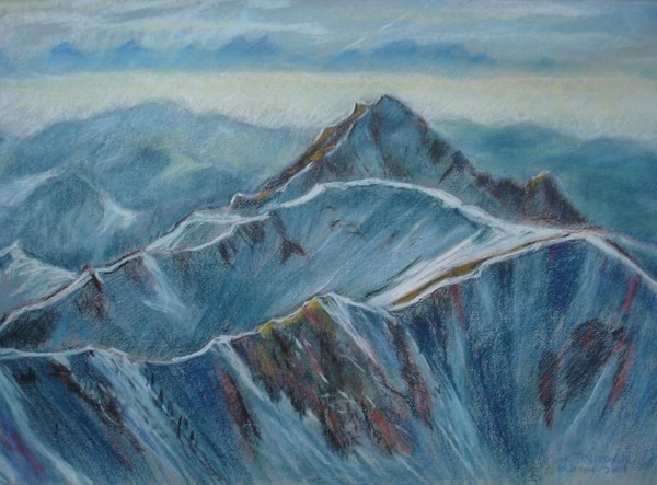Föhn over Mt.Teysachaux