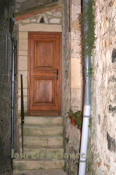 A Door in the Medieval Town of Viviers