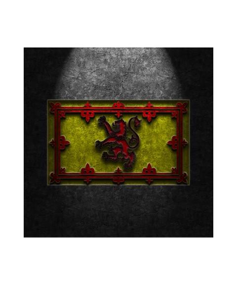 Royal Standard of Scotland Stone Texture