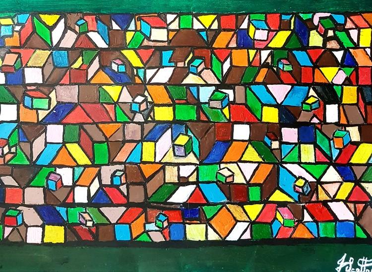 Boxes of Vibrant Colours