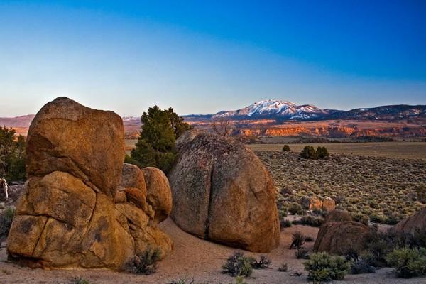 Glass Mountain Sunset