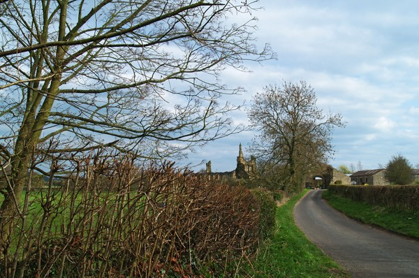 The Oldstead Road and Byland Abbey