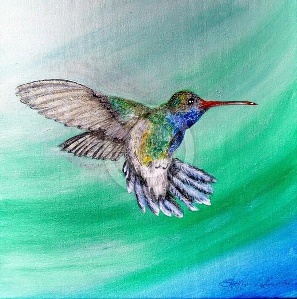 Hovering Hummingbird 1
