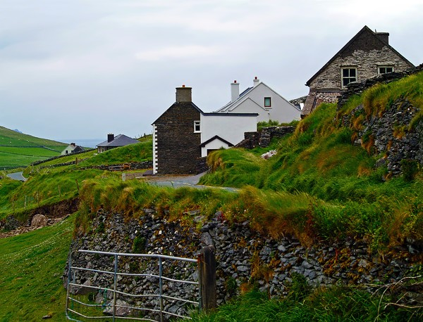The Irish Countryside on the Dingle Peninsula