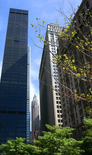 Manhattan Skyline # 1 & 2