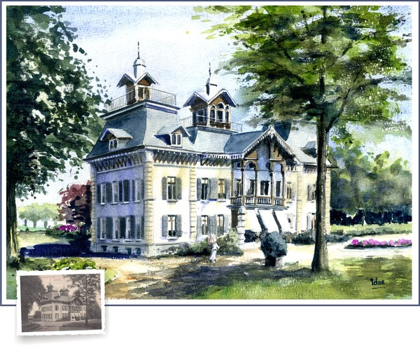 The castle of Borgt