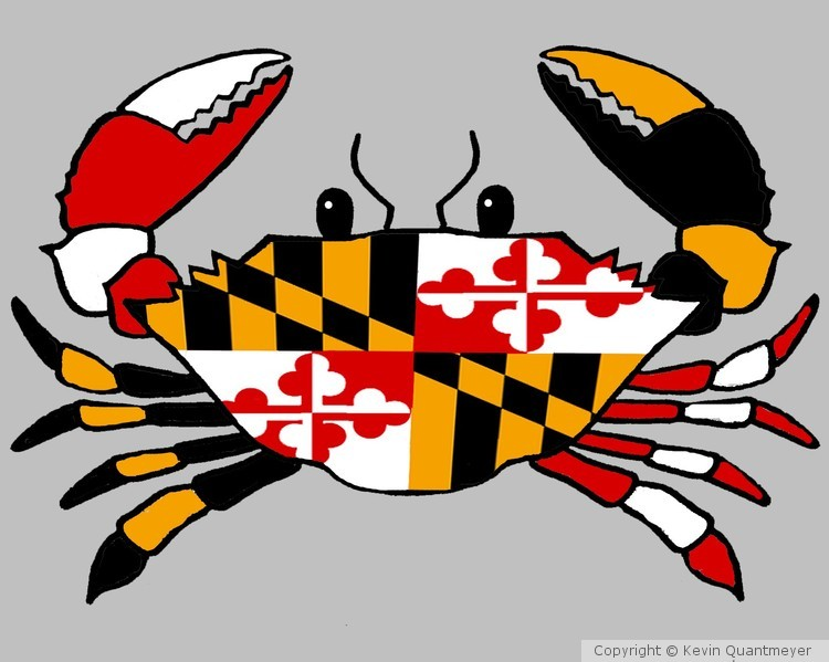 Maryland crab logo