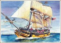 Sailing boats- and ship paintings
