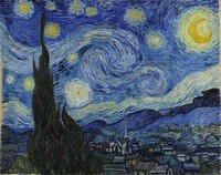 "THEME: Recreate ""The Starry Night"""