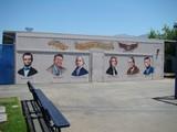 American Presidents Mural