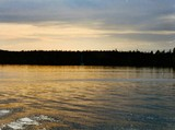 On Lake Superior at Sunset