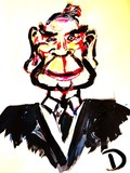 Tommy Lee Jones Caricature