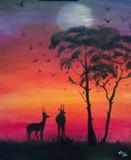 African dusk