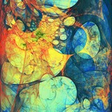 Abstract Composition 187
