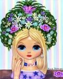 Blythe Doll Love Head Vase
