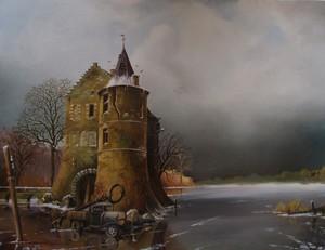 Castle  Rivieren Voerendaal  The Netherlands.