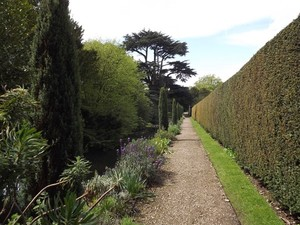Quiet path at Gunby Hall