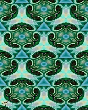 twirly  green