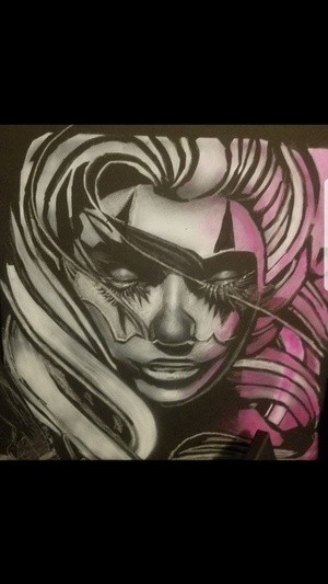 Hot Clownface Pink