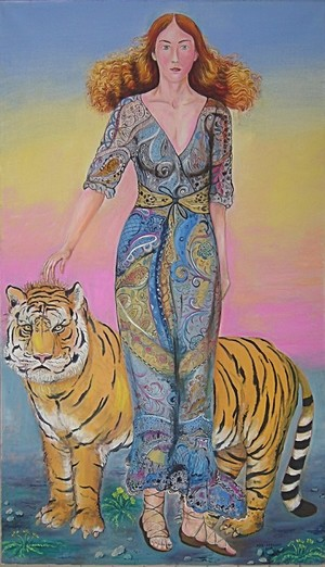 Fashion 2016, Girl with Tiger