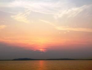 Alki Beach Sunset
