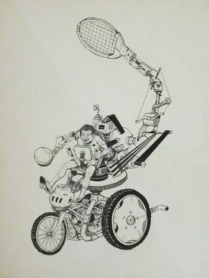 Tennis-Machine