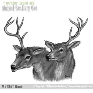 Mutant Deer portrait