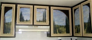 SCENIC / BACKDROP PAINTINGS