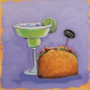 Margarita and Taco