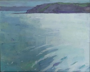 Osmington Looking West 23 x 25cm