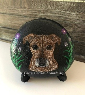 Stella Dog Stippled River Stone
